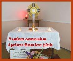 Fête du Saint-Sacrement le 23 juin