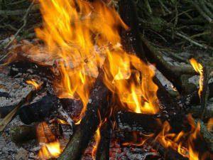 Je suis venu apporter le feu sur la terre