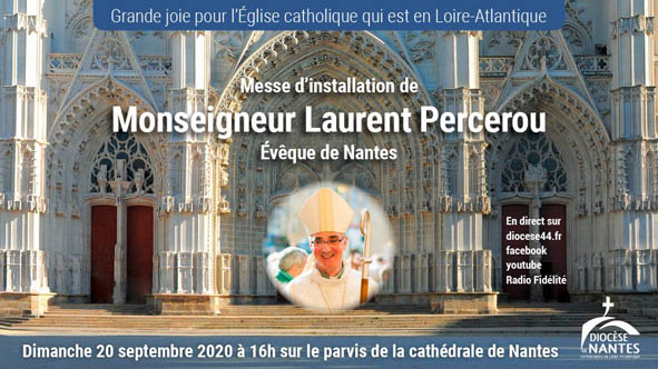 Mgr Laurent PERCEROU Evêque de Nantes