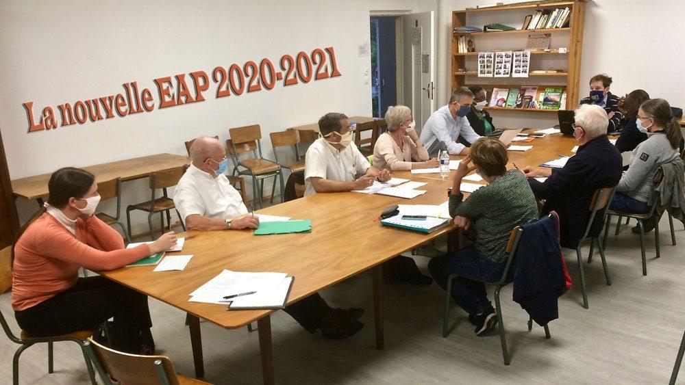 Première rencontre de l'EAP pour la rentrée