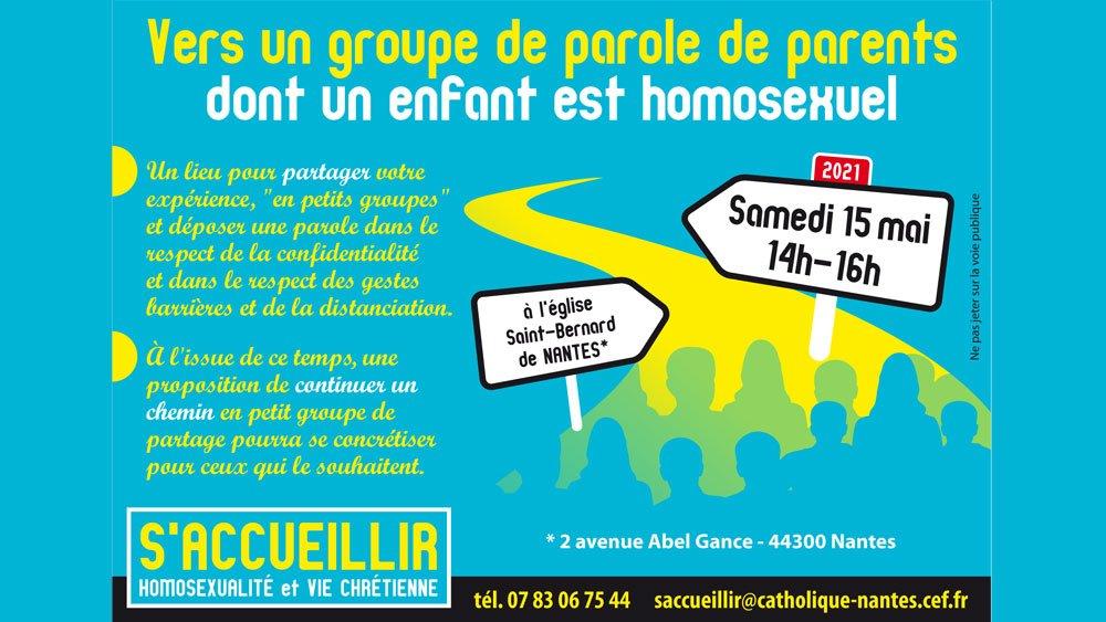 S'accueillir : homosexualité et Vie chrétienne